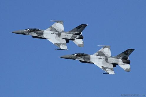 © Jason Grant - United States Marine Corps • General Dynamics F-16 Fighting Falcon Formation • NAS North Island