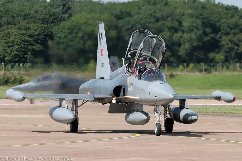 © Stuart Freer - Northrop NF-5B Tiger II • Turkish Air Force • Royal International Air Tattoo 2007