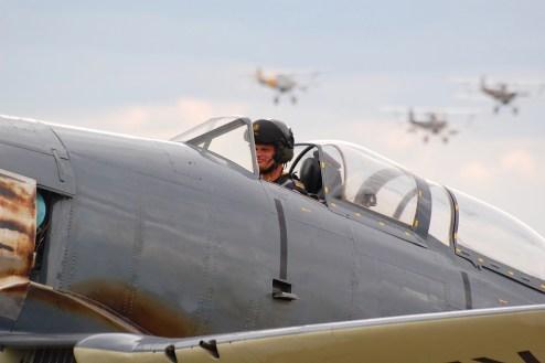 © Ben Montgomery • Hawker Sea Fury • Duxford Flying Legends 2011