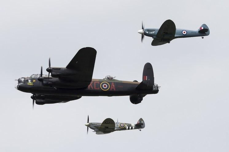 © Adam Duffield • BBMF Formation • Luchtmachtdagen 2014