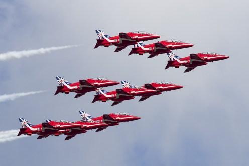 © Adam Duffield • RAF Red Arrows • Luchtmachtdagen 2014