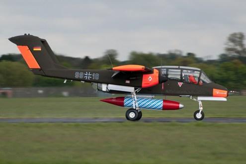 © Duncan Monk • North American OV-10B Bronco G-ONAA • Abingdon Air & Country Show 2015
