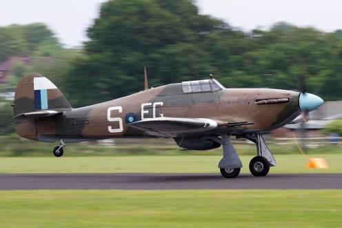 © Mic Lovering • BBMF Hawker Hurricane • RAF Cosford Air Show 2015