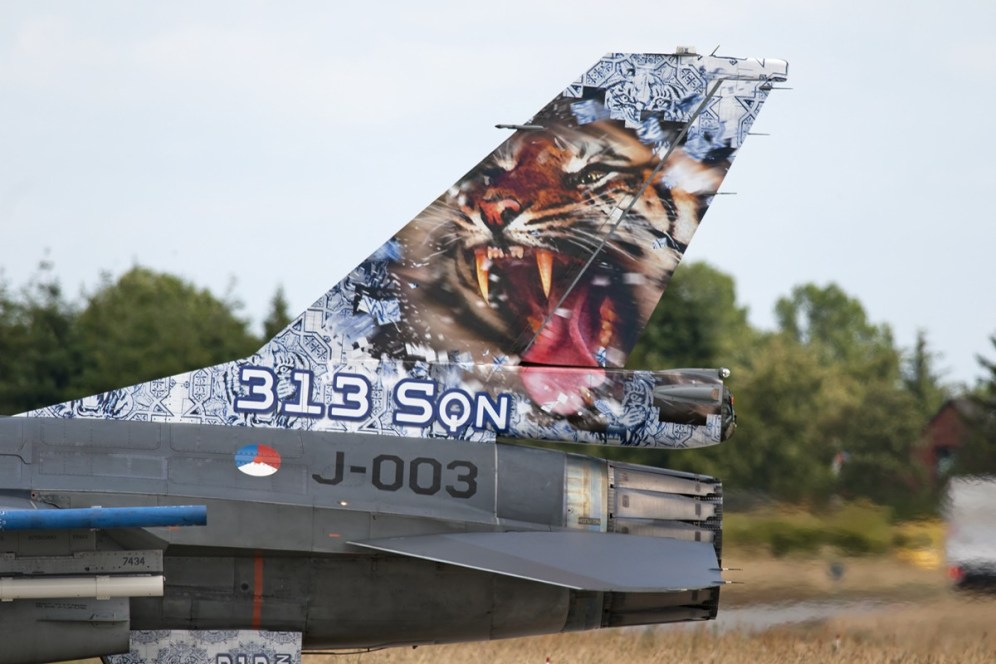 © Duncan Monk • RNLAF F-16 Special Tail • NATO Tiger Meet 2014