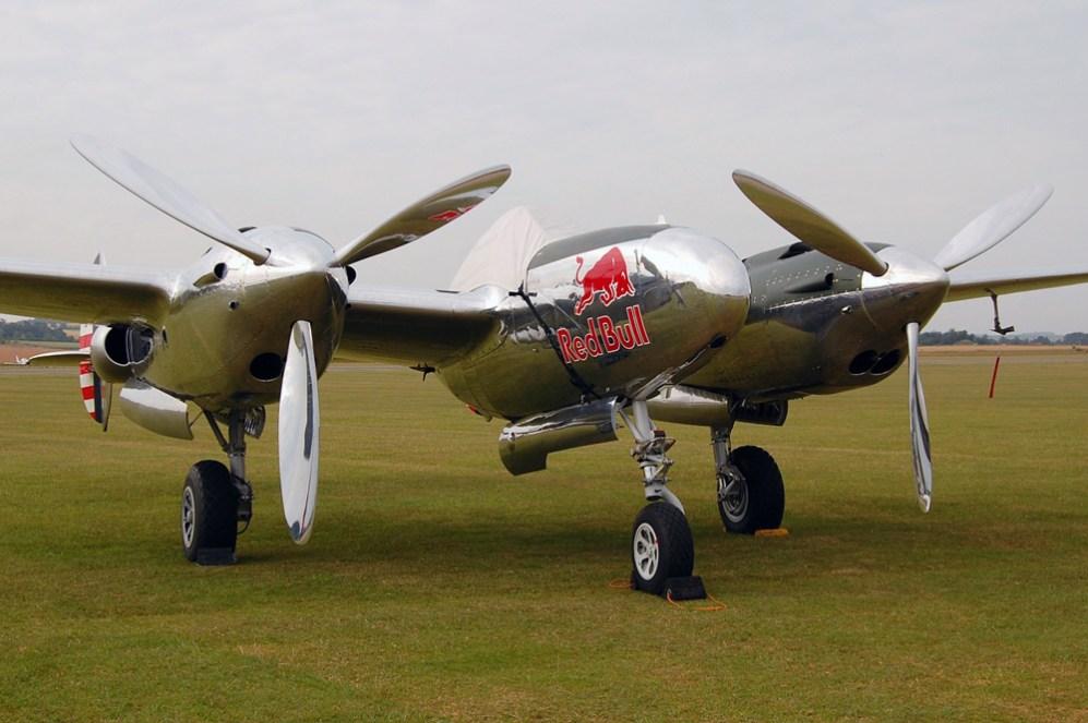 © Steve Smith • P-38 Lightning • Duxford Flying Legends 2011