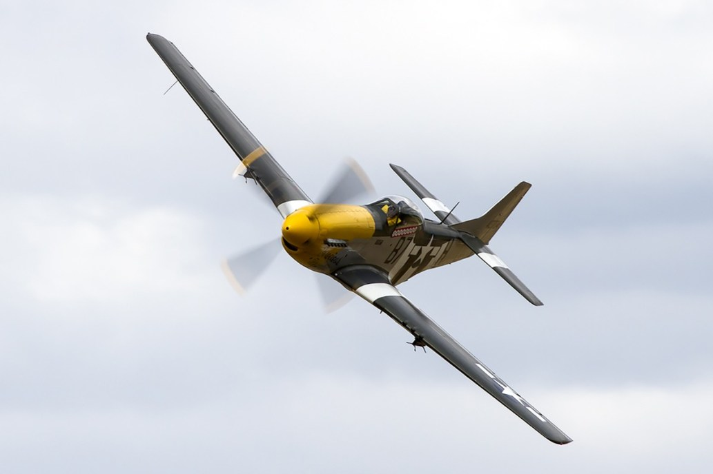 © Adam Duffield • P-51D Mustang 'Ferocious Frankie' 413704 / G-BTCD • Old Buckenham Airshow 2014