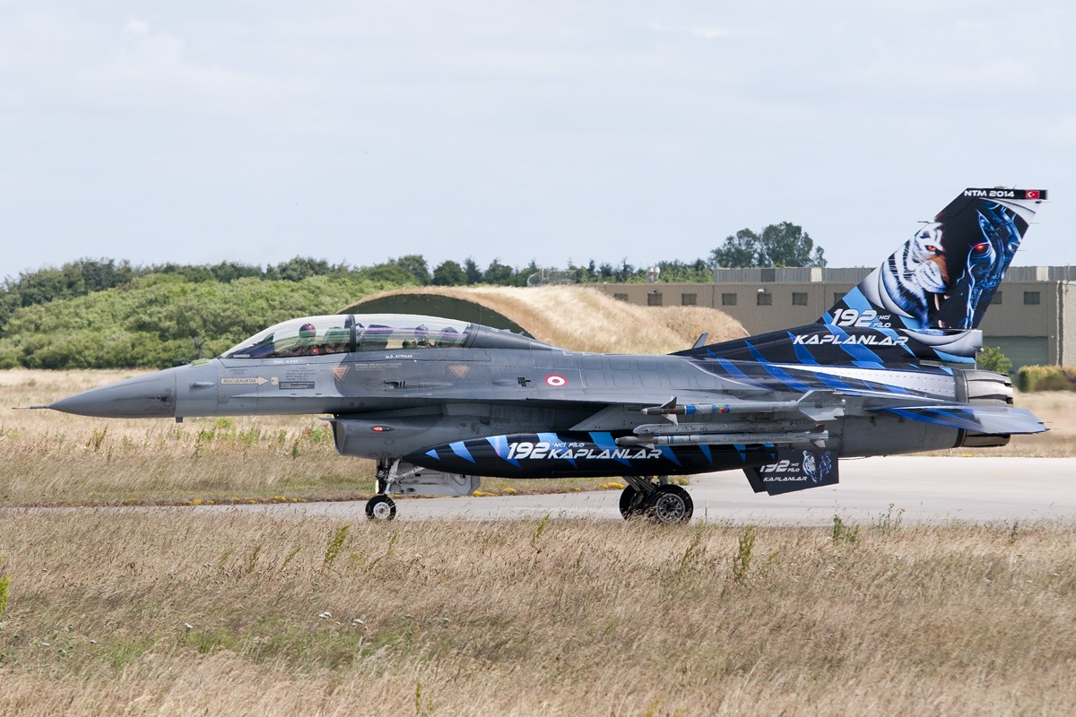 © Duncan Monk • Turkish Air Force F-16 Special • NATO Tiger Meet 2014