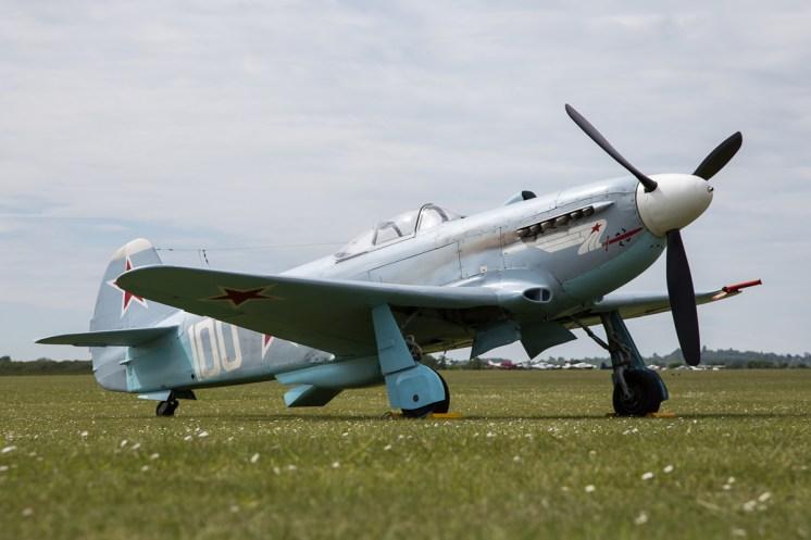 © Adam Duffield • Yakovlev Yak-3 'White 100' • Duxford VE Day 70th Anniversary Airshow