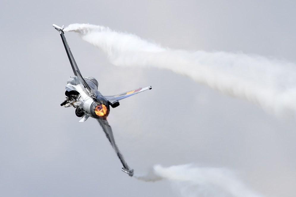 © Adam Duffield • Belgian Air Force F-16AM FA-84 • Luchtmachtdagen 2014