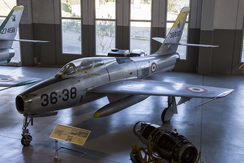 © Adam Duffield • Republic G-84F MM53-6892 • Italian Air Force Museum