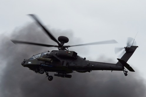 © Adam Chittenden • AAC Apache Solo Display • Cosford Airshow 2014