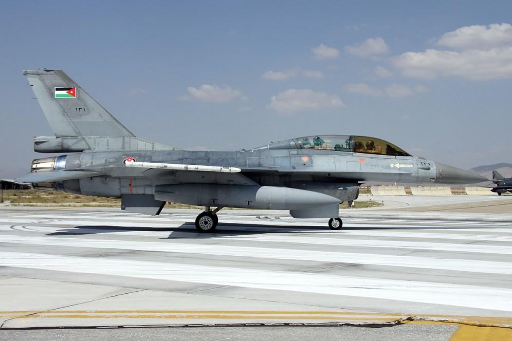 © Mark Kwiatkowski • Royal Jordanian Air Force F-16D 121 • Anatolian Eagle 2014