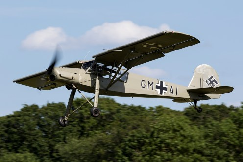 © Adam Duffield • Fieseler Storch • Shuttleworth LAA Party in the Park