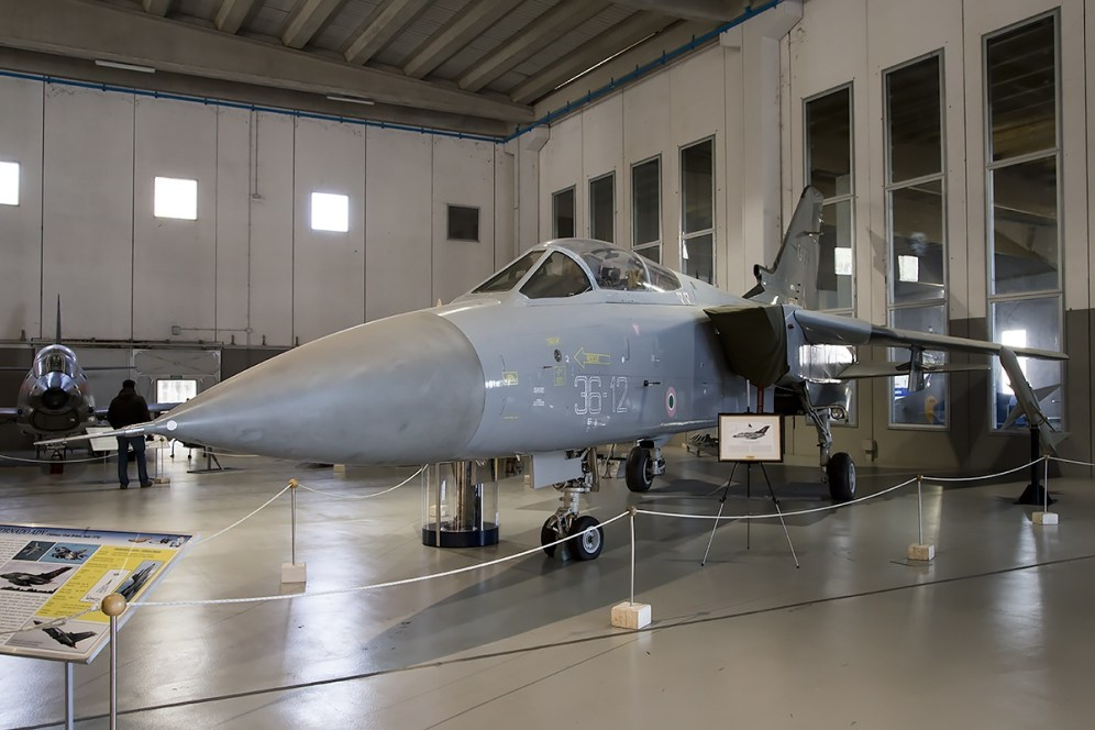 © Adam Duffield • Panavia Tornado F3 MM7210 • Italian Air Force Museum