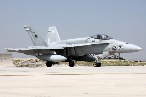 © Mark Kwiatkowski • Spanish Air Force EF-18A 12-17 • Anatolian Eagle 2014