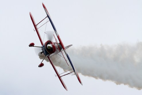 © Mic Lovering • Rich Goodwin Pitts S-2S • RAF Cosford Air Show 2015