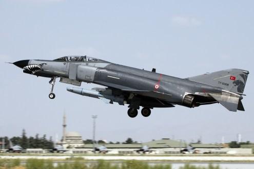 © Mark Kwiatkowski • TuAF F-4E 77-0308 • Anatolian Eagle 2014