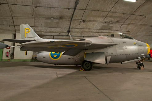 © Duncan Monk • Aeroseum - Göteborg, Sweden • SAAB J-29F 'flying barrel' Tunnan