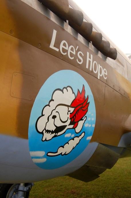 © Steve Smith • Curtiss P-40F Warhawk • Duxford Flying Legends 2011