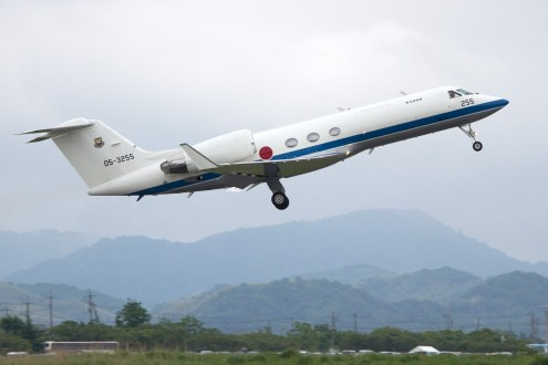 © Michael Lovering • Gulfstream U-4 • JASDF Miho Air Festival 2014