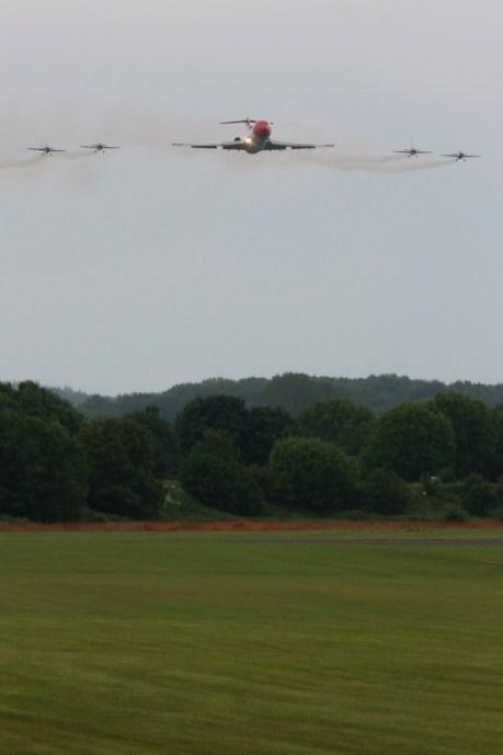© Jamie Ewan • Boeing 727 & Blades Formation • RAF Cosford Air Show 2015