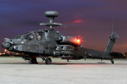 © Mark Kwiatkowski • Westland Apache WAH-64D ZJ174 • Northolt Nightshoot XVII