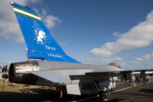 © Duncan Monk • RDAF F-16AM E-191 • RDAF Karup Airshow 2014