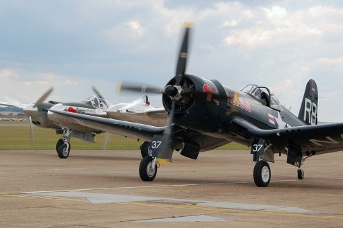 © Steve Smith • Vought F4U-4 Corsair • Duxford Flying Legends 2011