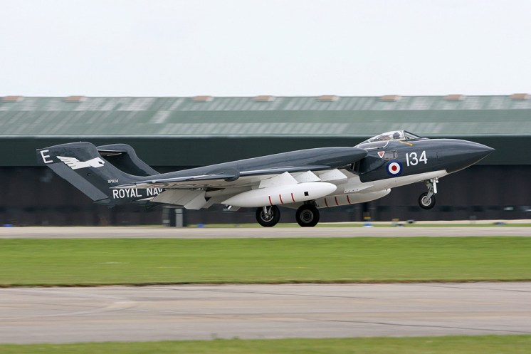 © Mark Graham - De Havilland DH.110 Sea Vixen D3 • RAF Yeovilton, UK
