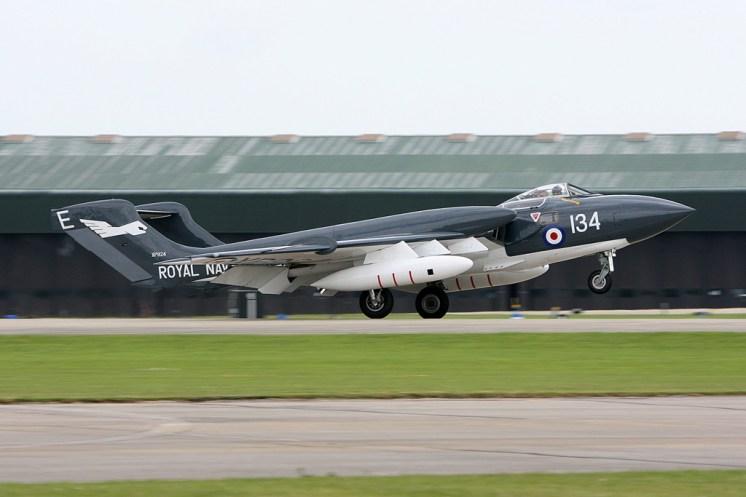 © Mark Graham - De Havilland DH.110 Sea Vixen D3 • RAF Yeovilton, UK