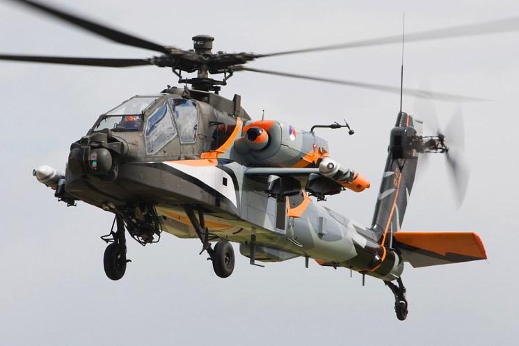 © Shaun Schofield • Westland AH64 Apache • RAF Yeovilton, UK