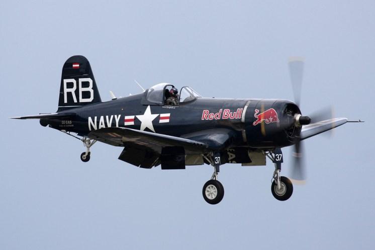 © Ben Montgomery • Vought F4U-4 Corsair • Duxford Flying Legends 2011
