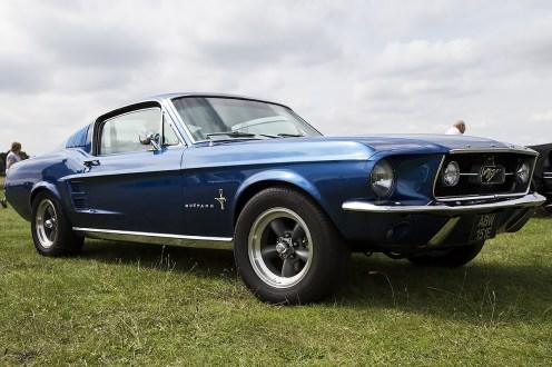 © Adam Duffield • Ford Mustang • Old Buckenham Airshow 2014
