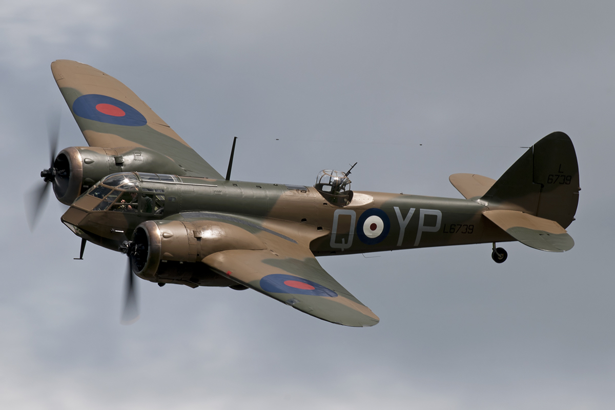 © Duncan Monk • Bristol Blenheim G-BPIV • Throckmorton Air Show