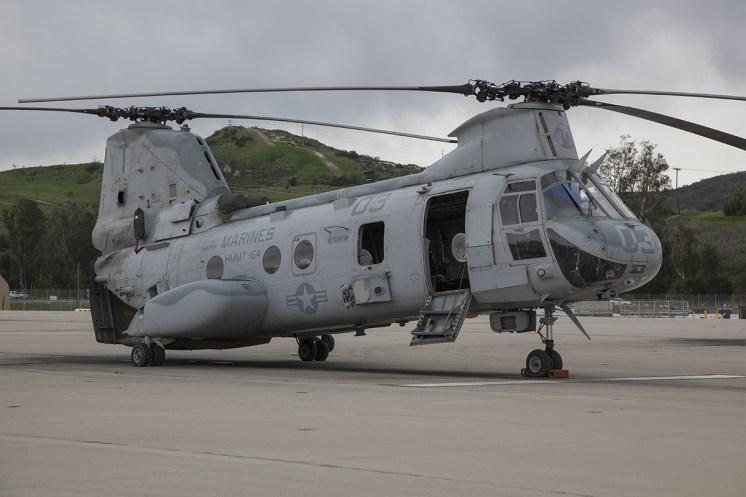 © Jason Grant • Boeing Vertol CH-46E Sea Knight 154799 • Marine Corps Base Camp Pendleton