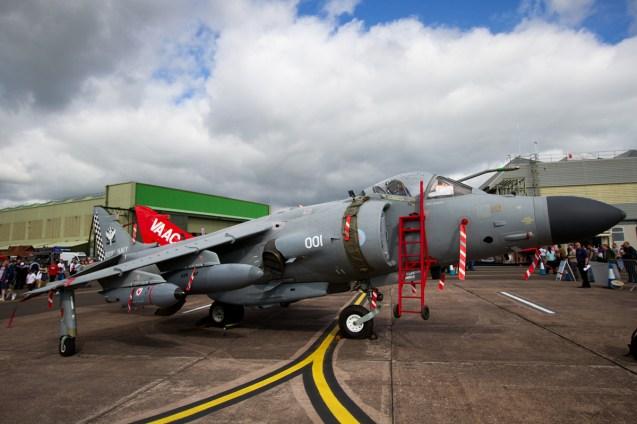 © Mic Lovering • Sea Harrier • RAF Cosford Air Show 2015