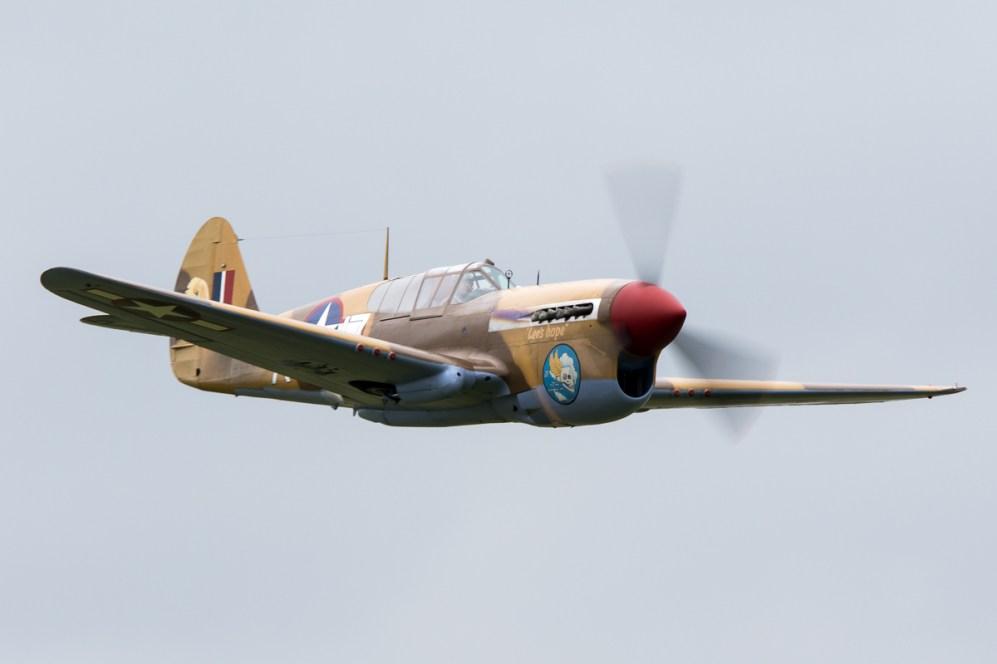 © Adam Duffield • Curtiss P-40F Warhawk • Duxford VE Day 70th Anniversary Airshow