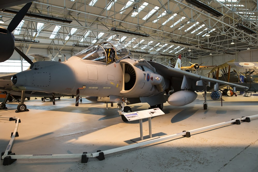 © Adam Duffield • BAe GR.9A Harrier ZG477 • RAFM Cosford