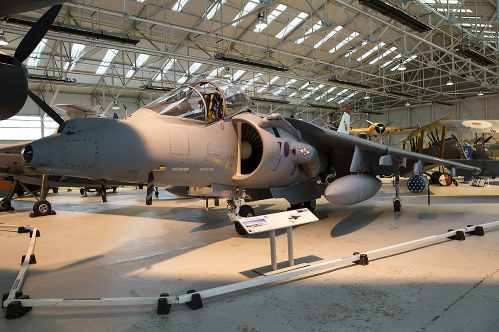 © Adam Duffield • BAe GR.9A Harrier ZG477 • RAFM Cosford