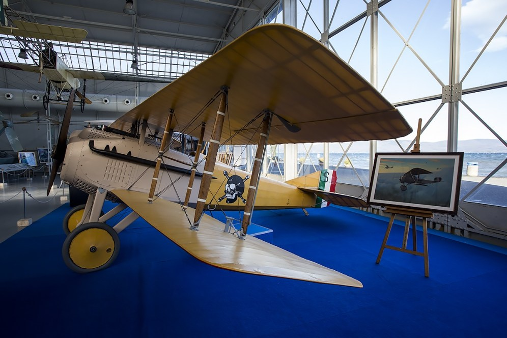 © Adam Duffield • SPAD S-VII S.153 • Italian Air Force Museum