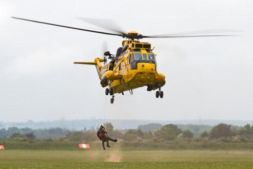 © Ben Montgomery • Westland Sea King HAR3 SAR Demo • Duxford VE Day 70th Anniversary Airshow
