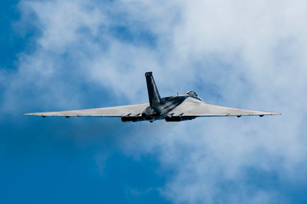 © Duncan Monk • Avro Vulcan XH558 • Throckmorton Air Show