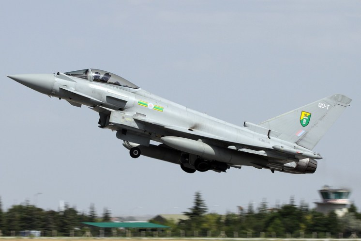 © Mark Kwiatkowski • RAF Typhoon FGR4 ZJ934 • Anatolian Eagle 2014