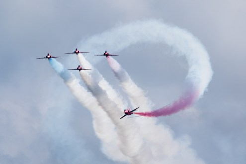 © Adam Duffield • Red Arrows • Duxford VE Day 70th Anniversary Airshow