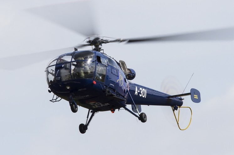 © Adam Duffield • Aérospatiale Alouette III A-301 • Luchtmachtdagen 2014