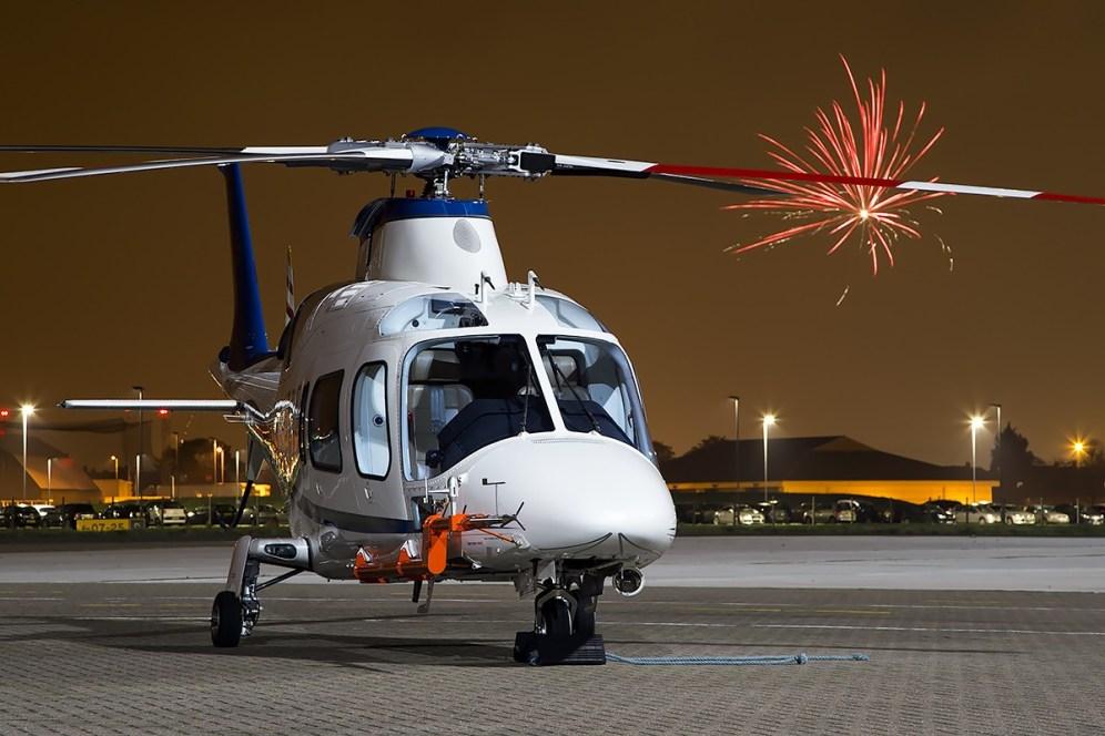 © Adam Duffield • Agusta A-109E ZE416 • Northolt Nightshoot XVII