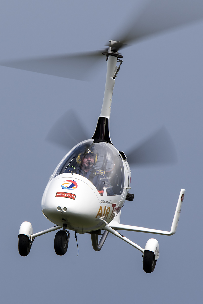 © Adam Duffield • Calidus Autogyro G-ULUL • Abingdon Air & Country Show 2015