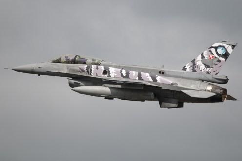 © Duncan Monk • Polish Air Force F-16D 4084 • NATO Tiger Meet 2014