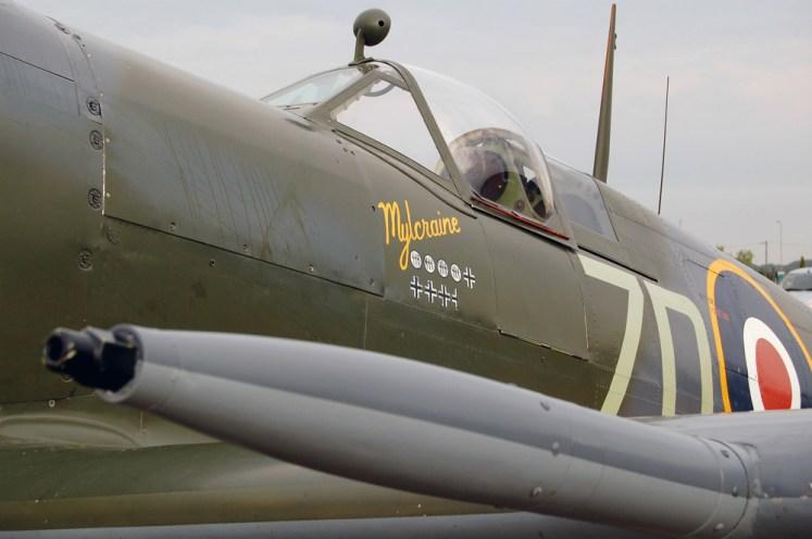 © Steve Smith • Supermarine Spitfire • Duxford Flying Legends 2011