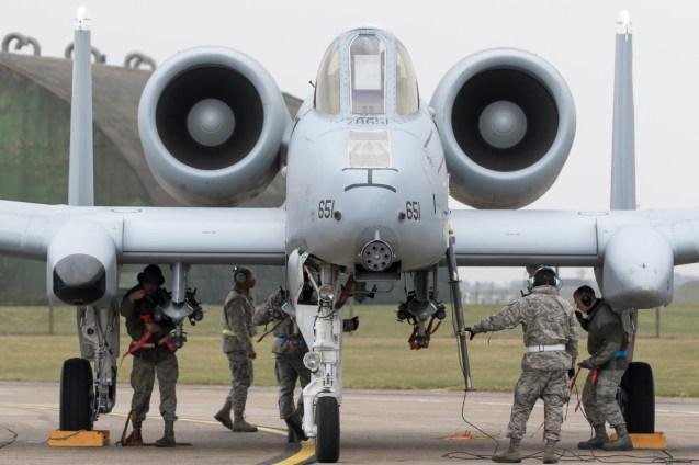 © David Mackey • 354th EFS Fairchild Republic A-10 Thunderbolt II • A-10 Lakenheath TDY